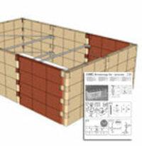 Juwel 20578 Hochbeet Profiline Erweiterungs-Set
